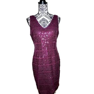 SD Collection Sequin Dress Size 12
